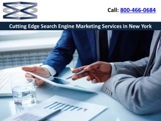 Cutting Edge Search Engine Marketing Services in New York