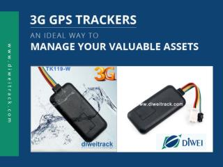 3G GPS Trackers - A Great Way to Manage Business Assets