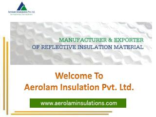 Different Types of Insulation Materials | Insulation Material List