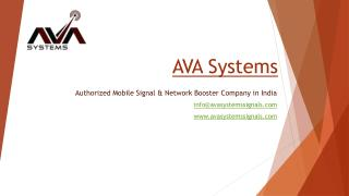 How Mobile Signal Booster Works in Home and  Office - AVA Systems