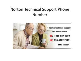 Norton Technical Support Phone Number 020-3887-7117