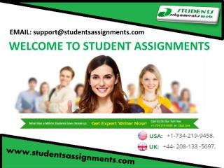 Assignment Solution Online