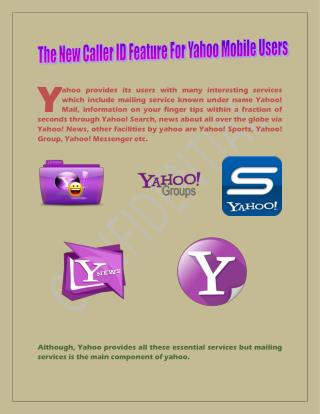 Yahoo Contact Number