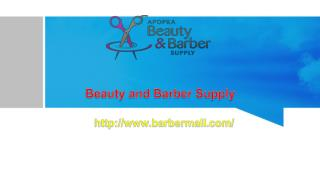 Beauty and Barber Supply
