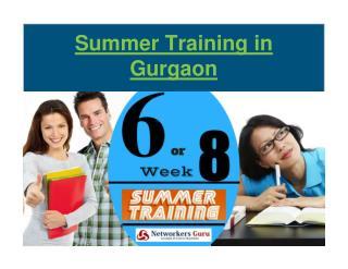 Summer training in Gurgaon