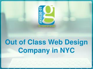 Out of Class Web Design Company in NYC
