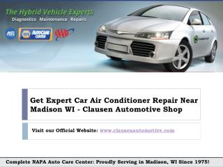 How to Fix Car Air Conitioner in madison Wi?