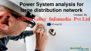 Power System Analysis Services - Silicon Valley