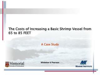 The Costs of Increasing a Basic Shrimp Vessel from 65 to 85  FEET