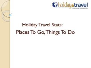 Travel Destinations January