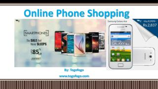 Online Phone Shopping