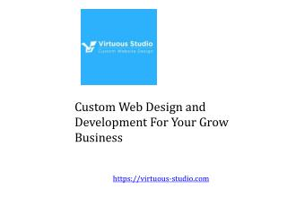 Best Custom Web design and Development in India
