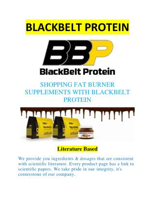 Shopping Fat Burner Supplements With Blackbelt Protein