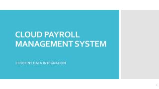 cloud payroll management system