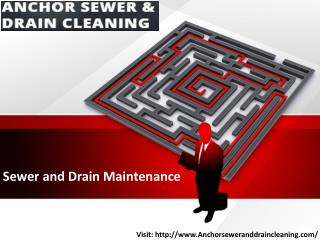 Sewer and Drain Maintenance