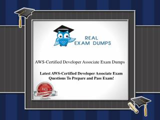Pass Your AWS Certified Developer Associate Exam And Get Certified | Practice Question Answers