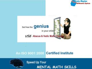 Abcus and Vedic Maths
