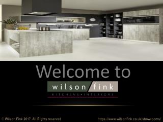 Kitchen Showrooms in Radlett Hertfordshire - Wilson Fink