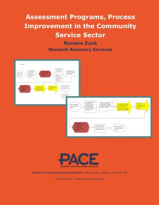Process Improvement in the Community Service Sector
