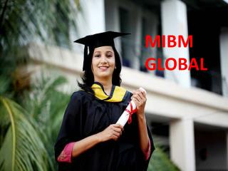 ((MIBM GLOBAL)) 2 year mba online in India
