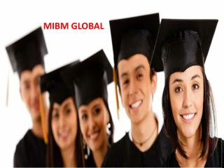 Customer Service provide for 2 year mba online in India- ((MIBM GLOBAL))