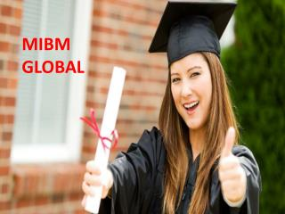 Resolve the issues related with the 2 year mba online in India- ((MIBM GLOBAL))