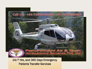 Panchmukhi Emergency Air Ambulance Services from Guwahati to Patna