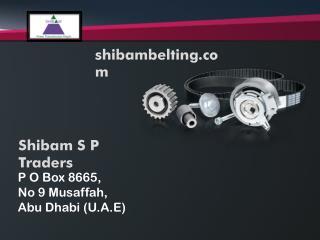 Necessary Car Timing Belts Made By shibambelting.com
