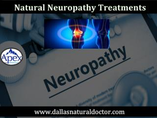 Natural Neuropathy Treatments