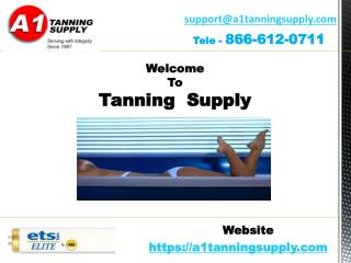 Tanning lamps