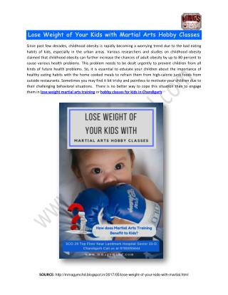 Lose Weight Martial Arts Training