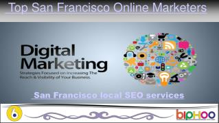 digital marketing solutions in San Francisco