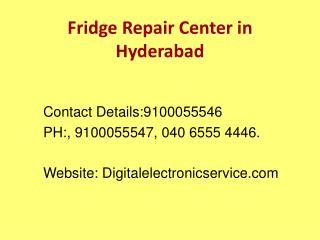 Fridge Repair Center in Hyderabad