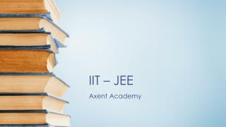 IIT-JEE – A Changing perspective