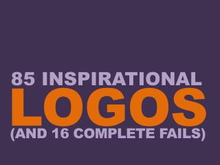 Inspiring and failed logos