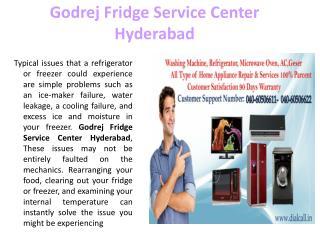 Godrej Fridge Service Center Hyderabad