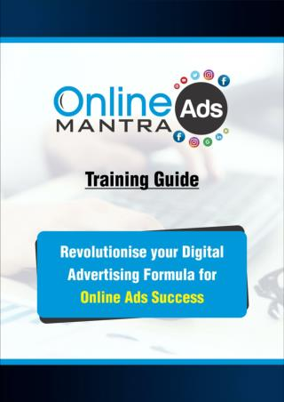 Training Guide Online Ads Mantra