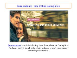 Eurosouldate - Safe Online Dating Sites