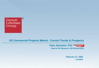 UK Commercial Property Market - Current Trends  Prospects