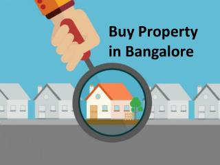 buy property in Bangalore