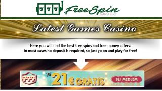 Classic Game Casino - Free Spin Mania