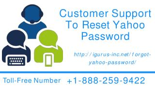 Reset Yahoo Password On Window Instantly