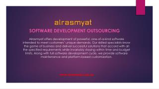 Get your business into new horizon of success With Alrasmyat for Software Development Outsourcing