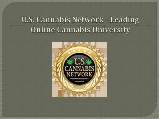 U.S. Cannabis Network - Leading Online Cannabis University