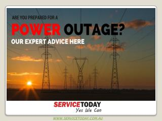Stay Prepared For Emergency Power Outage - Call 03 99993317 Emergency Electician Melbourne