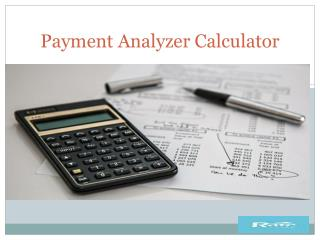 Payment Analyzer Calculator in Alberta|Canada