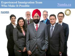 Canadian Immigration - Free Consultation - Nanda