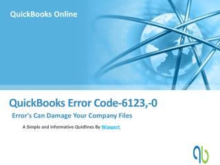 QuickBooks Error Code 6123,-0?
