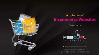 A Collection of eCommerce Websites Developed by WebGuru