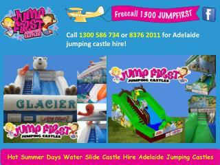 Hot Summer Days Water Slide Castle Hire Adelaide Jumping Castles
